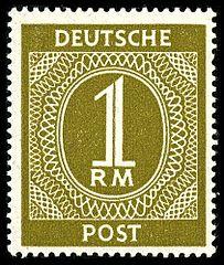 Postgeschichte Und Briefmarken Deutschlands Unter Alliierter