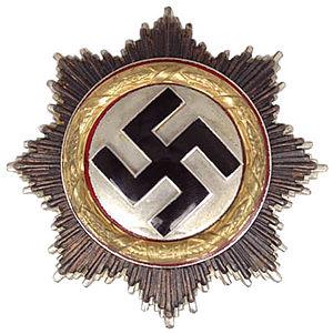 German Cross - Image: Deutsches Kreuzin Gold