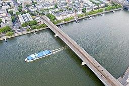 Deutzer Brücke in Köln