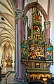 Die Marienkirche in Bad Mergentheim wurde aufwändig restauriert. Spätgotischer Maria-Tod-Altar.jpg