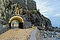 Die gepflegte Strandpromenade von Santa Cruz, Madeira. 01.jpg