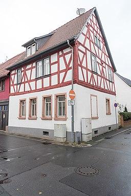 Klosterstraße in Dieburg