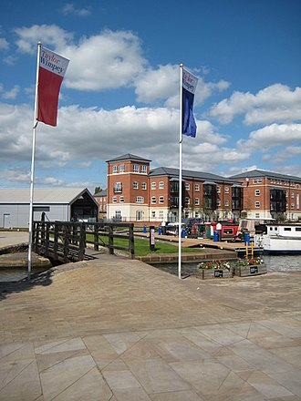 Taylor Wimpey - A Taylor Wimpey development at Diglis Basin in Worcester