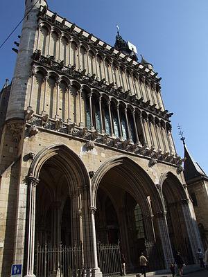 Church of Notre-Dame of Dijon - Western façade