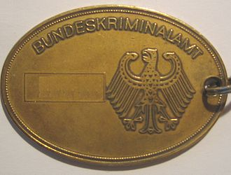 Badge - Badge of the German Bundeskriminalamt
