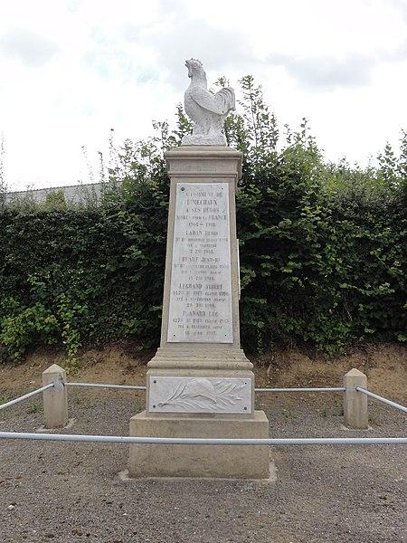 Dimechaux (Nord, Fr) monument aux morts