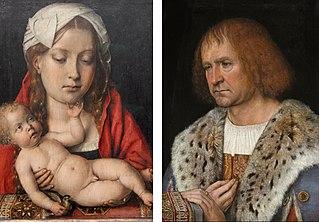 Diptyque avec la Vierge à l'Enfant et Diego de Guevara
