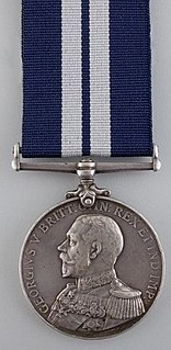 Distinguished Service Medal (United Kingdom) British military decoration awarded to personnel of the Royal Navy