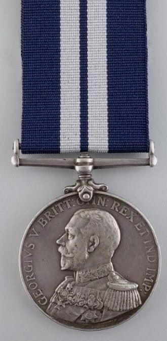 Distinguished Service Medal (United Kingdom) - Image: Distinguished Service Medal (UK) Obverse