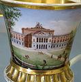 Doccia, servito con vedute di firenze, 1800-1850 ca., tazzina con villa di poggio imperiale 023.JPG
