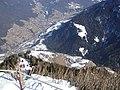 Dolomiten - St. Ulrich mit Pufels von den Hexenbänken aus - panoramio.jpg
