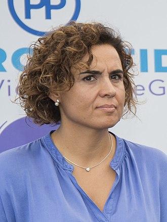 Ministry of Health (Spain) - Image: Dolors Montserrat en un acto de apoyo al Pacto de Estado contra la Violencia de Género 35454064894