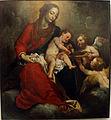 Domenico fiasella (il sarzana), madonna col bambino e due angeli, genova.JPG