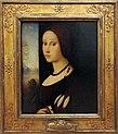 Domenico panetti (ferrara, attr.), ritratto di giovinetta, 1505-10 ca..JPG