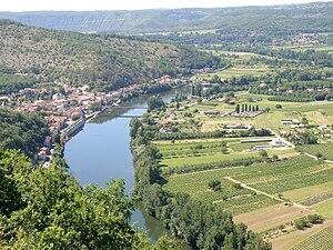 Douelle - A general view of Douelle