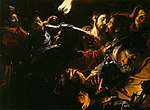 Douffet, Gérard - Taking of Christ with the Malchus Episode - c. 1620.jpg