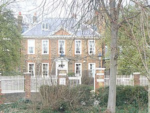 London Borough of Richmond upon Thames - Douglas House in Petersham, which houses the German School London