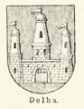Dovhe coat of arms 1880.png