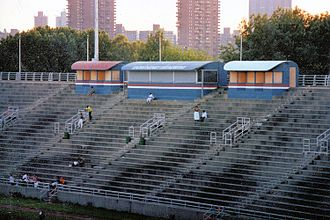 Downing Stadium - Image: Downing Stadium Randalls Island bb