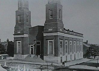 Downtown Presbyterian Church (Nashville) - Image: Downtown Presby 1860s Nashville