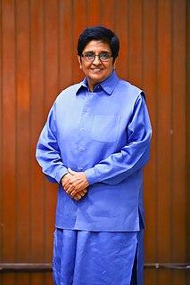 Kiran Bedi Indian police officer, social activist and politician