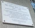 Dr. Sipeki Balás Géza emléktáblája, Budapest, XI., Ulászló utca 45..png