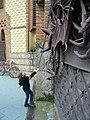 Drac i porta del Jardí de les Hespèrides P1440932.JPG