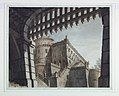 Drawing, Stage Design, Castle with a Portcullis, early 19th century (CH 18543967).jpg