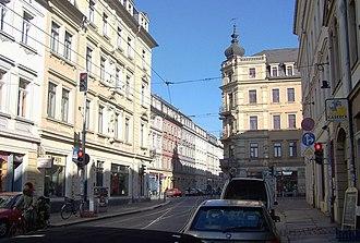 Äußere Neustadt - Junction Rothenburger-/Louisenstraße