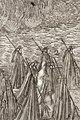 Drottning Kristina i Karl X Gustavs begravningståg, 1660-talet - Livrustkammaren - 108757.tif
