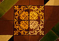 Dublin Christ Church Cathedral Lady Chapel Floor Tiles Lion Faces 2012 09 26.jpg