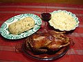 Duck with side dishes.JPG