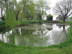 Brewham - Image: Duckpond at South Brewham geograph.org.uk 402415