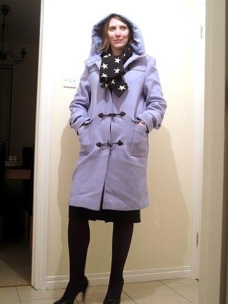 Duffel coat - A contemporary duffle-style coat