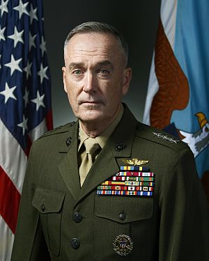 Chairman of the Joint Chiefs of Staff - Image: Dunford CJCS