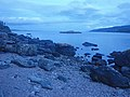 Dusk at South Bay on the Barmore Island shore - geograph.org.uk - 1447675.jpg