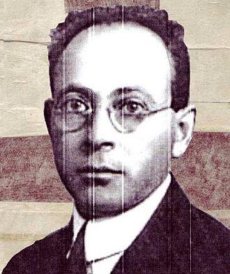 David Vogel (author) - Vogel in around 1919