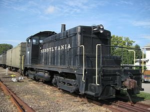 Railway Museum of Greater Cincinnati - EMD SW1