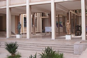 Paul Belmondo (sculptor) - Works by Belmondo at the Ecole des Beaux-Arts, Algiers
