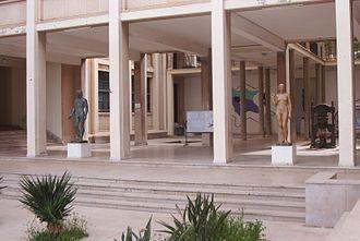 Paul Belmondo (sculptor) - Works by Belmondo at the Ecole des Beaux-Arts, Algiers