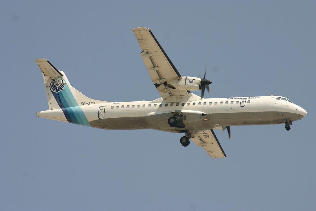 EP-ATS ATR.72 Iran Aseman Airlines (7691719536).jpg