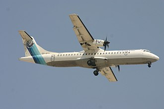 Iran Aseman Airlines Flight 3704 - EP-ATS, the aircraft involved, photographed in October 2006