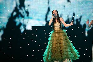 Bosnia and Herzegovina in the Eurovision Song Contest - Image: ESC 2007 Bosnia and Herzegovina Maria Sestic Rijeka bez imena