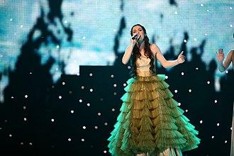 "Bosnia and Herzegovina in the Eurovision Song Contest 2007 - Marija Šestić performing ""Rijeka bez imena"" on Eurovision Song Contest 2007"