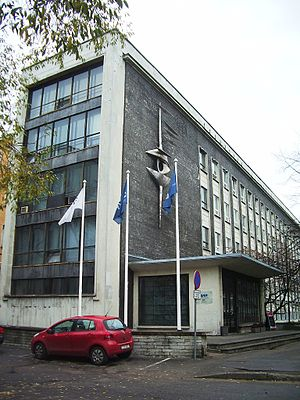 Eesti Televisioon - ETV main building at 27 Gonsiori street, Tallinn