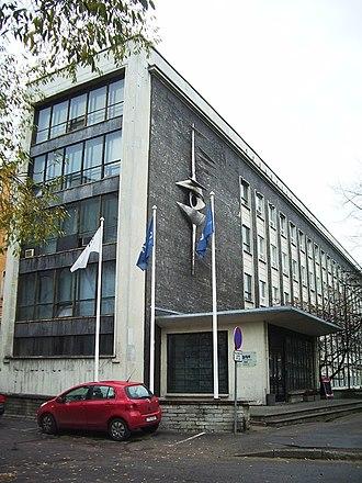 Eesti Televisioon - ETV main building at 27 Gonsiori street, Tallinn