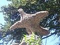 Eagle - Artigas gardens.JPG