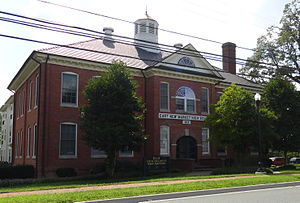 National Register of Historic Places listings in Dorchester County, Maryland - Image: East New Market High School