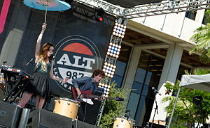 Echosmith - Echosmith performing in July 2014