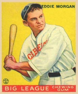 Ed Morgan (baseball) - Image: Ed Morgan Goudeycard